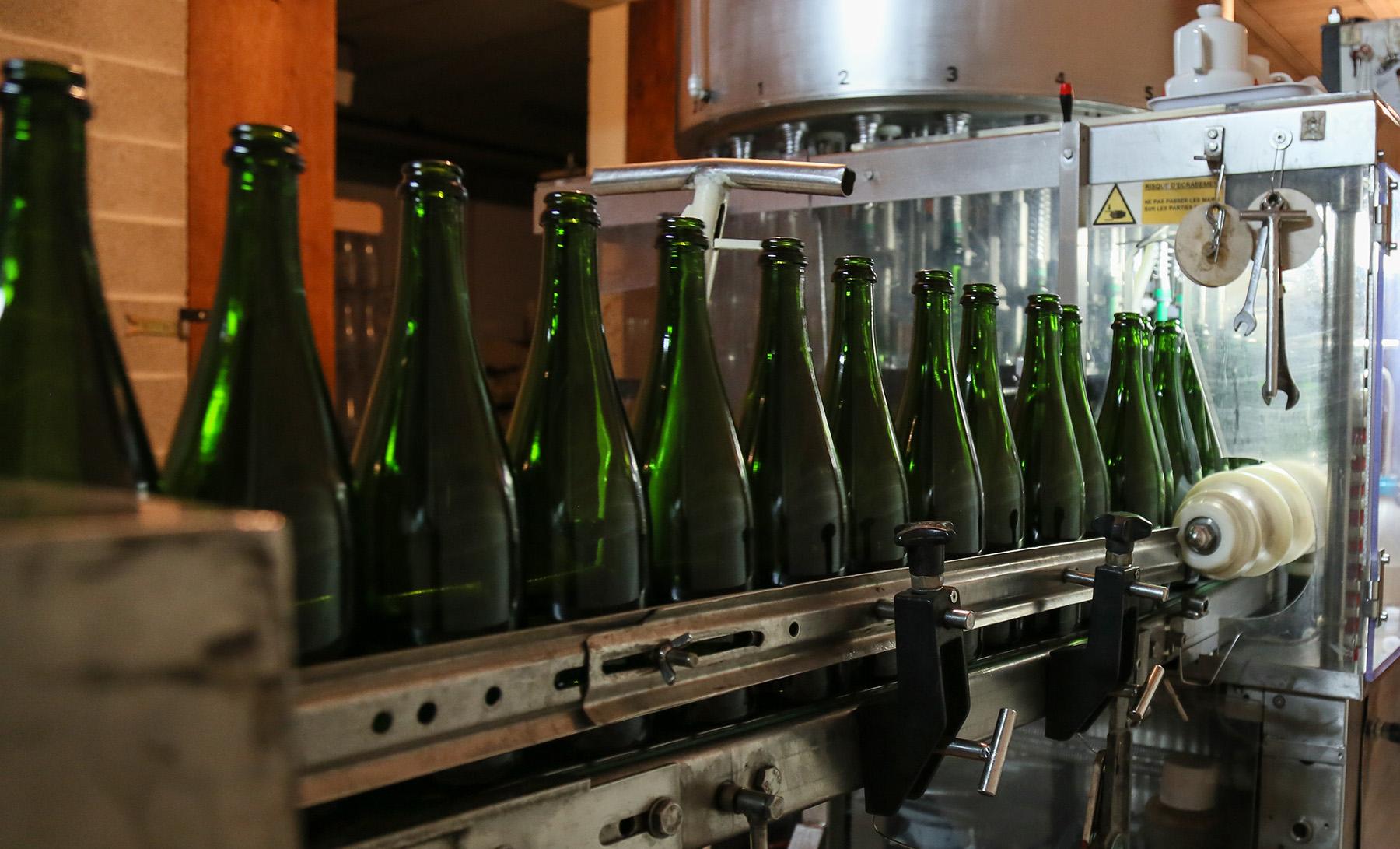 Tirage en bouteille et prise de mousse - Champagne Roger Lustig