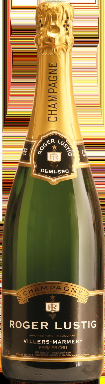 Champagne Roger Lustig - Cuvée Demi-Sec - Chardonnay Premier Cru